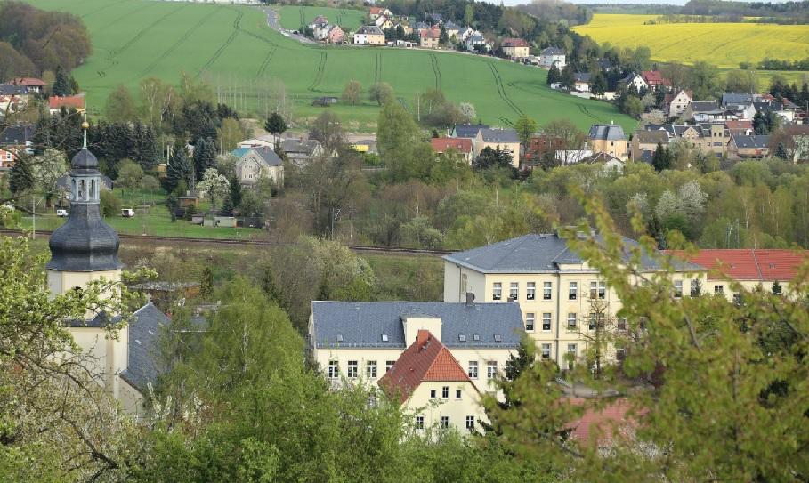 Blick über die Gemeinde Neukirchen