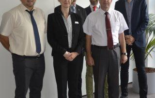 Minsker Berufsschuldirektor zu Besuch in der Zwickauer Arbeitsagentur